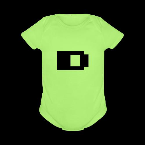 Baterry - Organic Short Sleeve Baby Bodysuit
