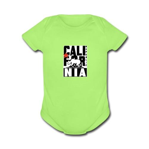 Republic of California - Organic Short Sleeve Baby Bodysuit