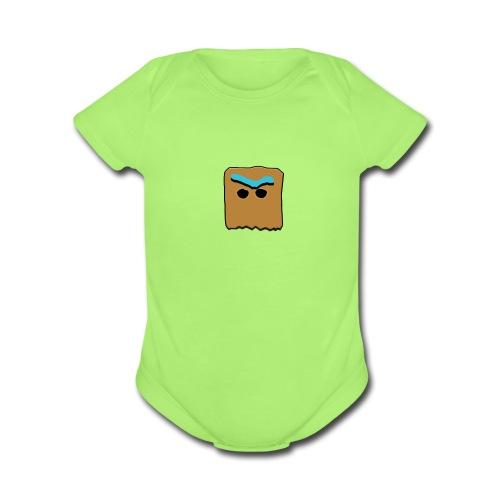 PLAYED - Organic Short Sleeve Baby Bodysuit