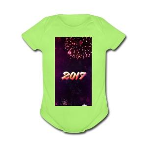 a74f411814526a614fa3555dfb22301d5ed9b8509a191ebaac - Short Sleeve Baby Bodysuit