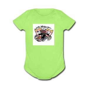Free Thinkers Union Logo - Short Sleeve Baby Bodysuit