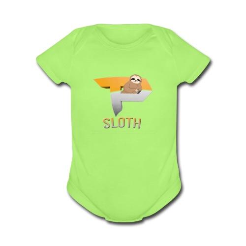 Stay Slothinq - Organic Short Sleeve Baby Bodysuit