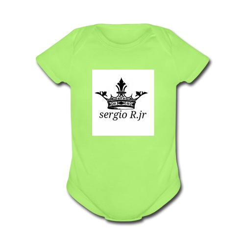 Sergio R.jr - Organic Short Sleeve Baby Bodysuit