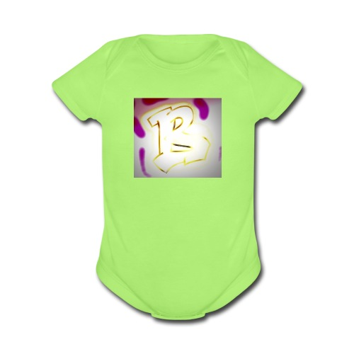 graffiti Beatz - Organic Short Sleeve Baby Bodysuit