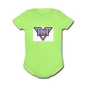 tnt - Short Sleeve Baby Bodysuit