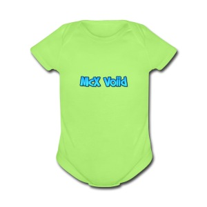 McX Voiid - Short Sleeve Baby Bodysuit