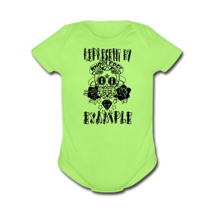 KNOWLEDGE - Short Sleeve Baby Bodysuit