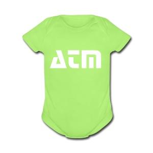 ATM - Short Sleeve Baby Bodysuit