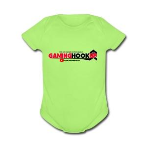 GamingHookup.com Merch! - Short Sleeve Baby Bodysuit