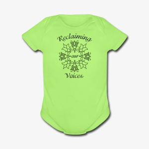 Reclaiming Our Voices - Short Sleeve Baby Bodysuit