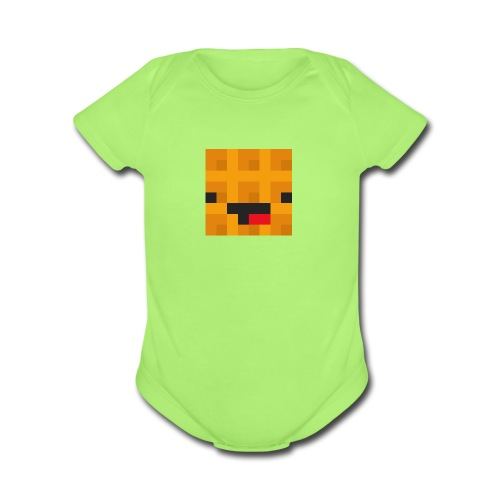 Nuclear Waffle Gen.1 - Organic Short Sleeve Baby Bodysuit