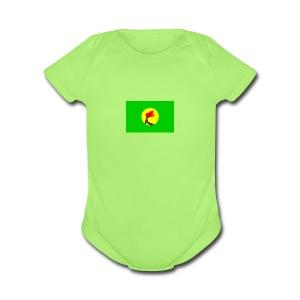 Zaïre - Short Sleeve Baby Bodysuit