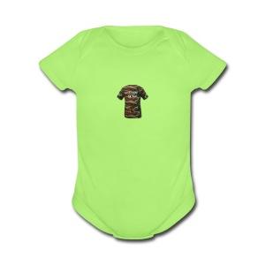 back of tees - Short Sleeve Baby Bodysuit