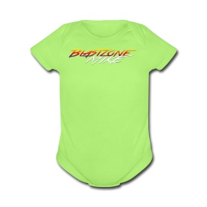 Blastzone Mike - Short Sleeve Baby Bodysuit
