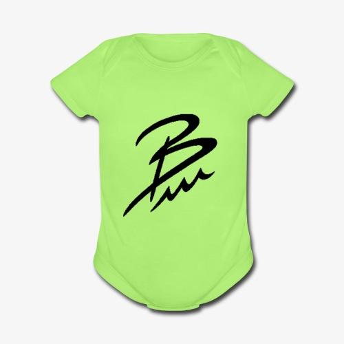 Brandon Cruz - Organic Short Sleeve Baby Bodysuit