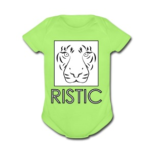 Ristic - Short Sleeve Baby Bodysuit