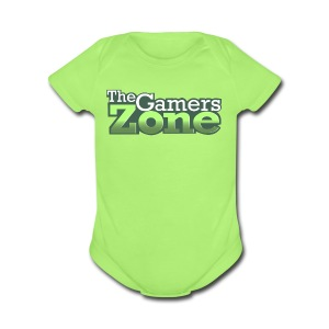 THE GAMERS ZONE - Short Sleeve Baby Bodysuit