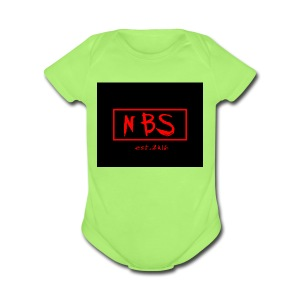 NBS phonecase - Short Sleeve Baby Bodysuit