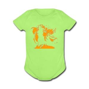 Map - Short Sleeve Baby Bodysuit