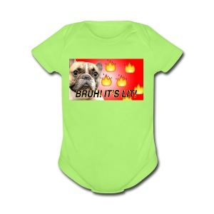 IMG 1465 - Short Sleeve Baby Bodysuit