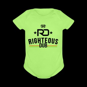 Righteous Dub Logo - Short Sleeve Baby Bodysuit