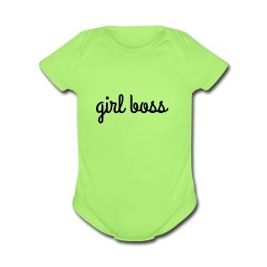 Girl Boss Merch - Short Sleeve Baby Bodysuit