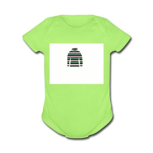 color tee - Organic Short Sleeve Baby Bodysuit