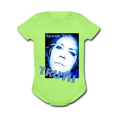 SpeakTheTruth - Organic Short Sleeve Baby Bodysuit