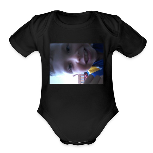 The YouTuber himself - Organic Short Sleeve Baby Bodysuit