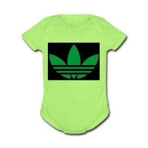 Small logo - Short Sleeve Baby Bodysuit