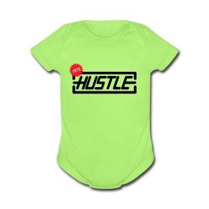 Hustle 110% - Short Sleeve Baby Bodysuit