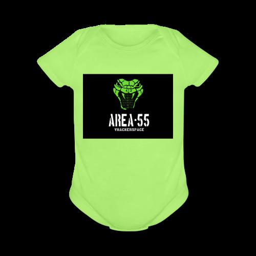 final_Area55_vertical1 - Organic Short Sleeve Baby Bodysuit