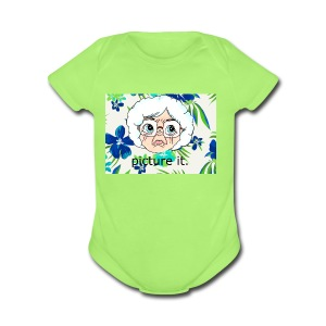 picture it ... - Short Sleeve Baby Bodysuit