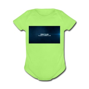 XBN CLAN - Short Sleeve Baby Bodysuit