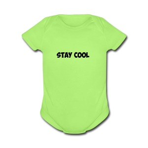 Untitled-1 - Short Sleeve Baby Bodysuit