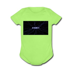 Nc Bassin Tv - Short Sleeve Baby Bodysuit