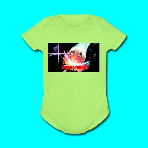 Cool banner - Organic Short Sleeve Baby Bodysuit