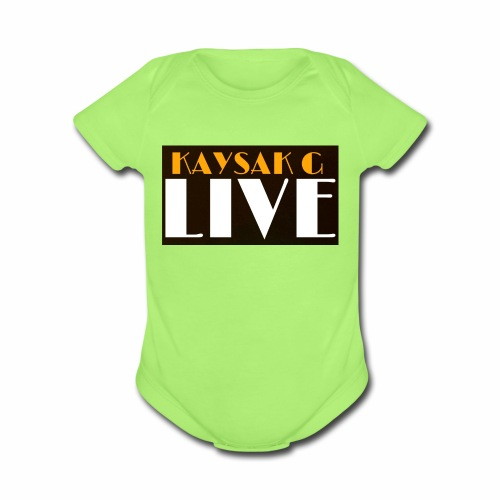 20170502 161620 - Organic Short Sleeve Baby Bodysuit