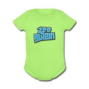 zeoblazin 2017 - Short Sleeve Baby Bodysuit