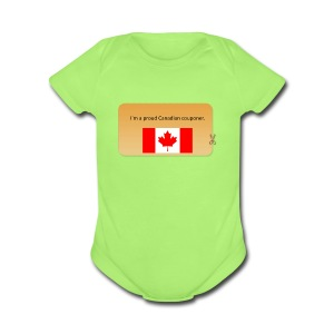 Canadian Couponer - Short Sleeve Baby Bodysuit