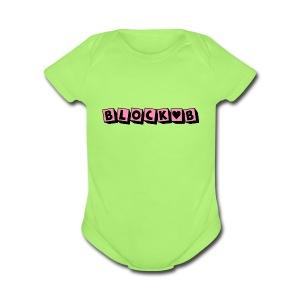 block b - Short Sleeve Baby Bodysuit