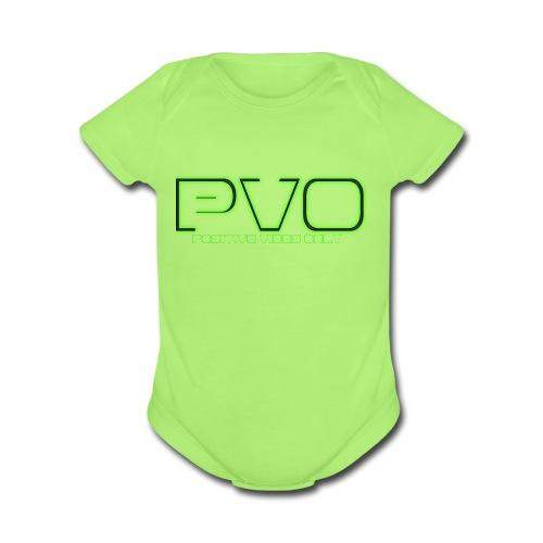 Positive Vibes Only - Organic Short Sleeve Baby Bodysuit