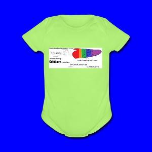 JBC logo history - Short Sleeve Baby Bodysuit