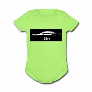dodge demon challenger design - Short Sleeve Baby Bodysuit