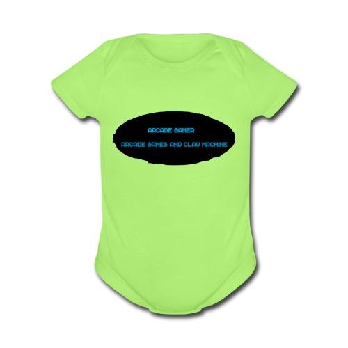 Arcade Gamer shirt - Organic Short Sleeve Baby Bodysuit