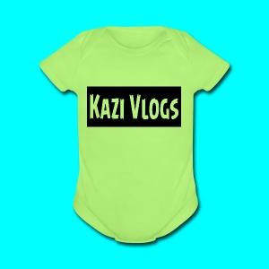 Kazi Vlogs - Short Sleeve Baby Bodysuit