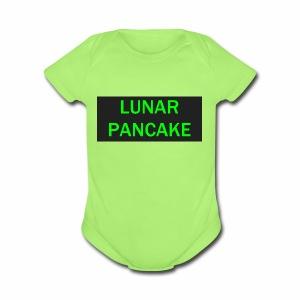 Lunar Pancake Merch - Short Sleeve Baby Bodysuit