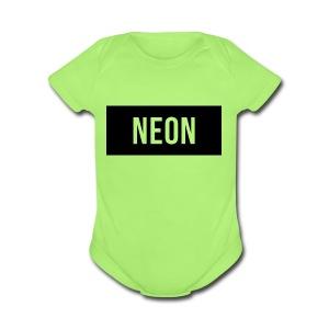 Neon Brand - Short Sleeve Baby Bodysuit
