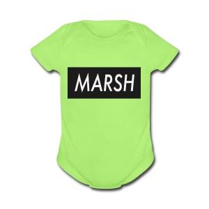 marsh apperal - Short Sleeve Baby Bodysuit