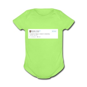 Occasionally, He Tells the Truth - Short Sleeve Baby Bodysuit